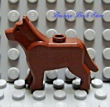 NEW Lego Minifig REDDISH BROWN DOG/ WOLF The Grim 7637 10197 7744 7237 10176