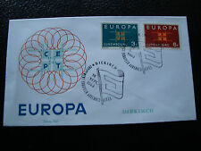 LUXEMBOURG - enveloppe 16/9/1963 (europa) (cy25)