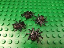 4 x Lego Black Spider Farm Harry Potter Set Animal