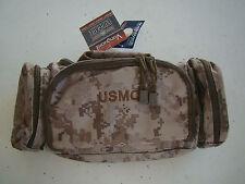 USMC US MARINE CORPS DESERT MARPAT CAMO CAMOUFLAGE WATERPROOF MOLLE BUTT PACK +