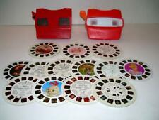 Lot of 2 3D View-Master and 22 Reels, Cars, Strawberry Shortcake & More