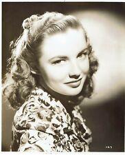 Joan Leslie Vintage Portrait Photograph 10 x 7