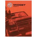 MG Midget Mark 3 Owners Handbook 1967-1974 ISBN 9781855201477 Part no AKD7596