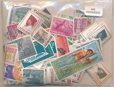 Indonesia    US  Paquete  500 sellos diferentes