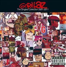 The Singles Collection 2001-2011 [PA] by Gorillaz (CD, Nov-2011, Virgin)