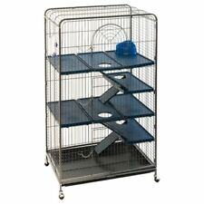 Large Rat Ferret Cage Chinchilla Squirrel Levels House Pet Safety Home Metal NEW