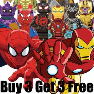 █ Buy 2 Get 1 Free █ - Spiderman Ironman MOC Kids Gift Toys