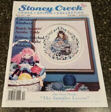 Stoney Creek Collection Magazine Cross Stitch Pattern Nov / Dec 1995