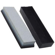 Double Sided Knife Blade Sharpener Wet Oil Stone Whetsone Grit Water