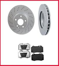 2000-2002 Mercedes S430 S500 Front Brake Rotors & Pads