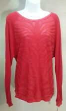 NWT $79.50 INC International Concepts Red Long Sleeve Sweater Size: M