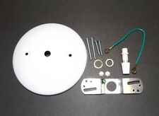 "5"" WHITE MODERN CEILING CANOPY KIT FOR LIGHT FIXTURES LAMP PART NEW 11784WJB"