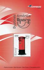 Chile 2011 Brochure - America UPAEP Postal Box - no stamp