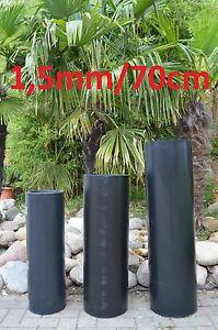 Meterware 1,5mm/70cm HDPE Bambussperre Rhizomsperre Wurzelsperre  (5€/Meter)