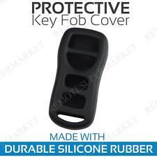 Remote Key Fob Cover Case Shell for 2002 2003 2004 Infiniti I35 Black