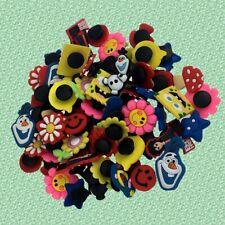 4 x Winnie The Pooh Tigger Tsum Tsums Shoe Charms PVC Rubber Holey Clogs shoes