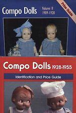 Vintage Composition Dolls 1909-1955- Makers Models Dates Etc. / 2- Vol. Book Set
