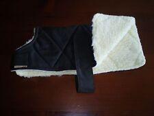 Dog Coats: Yuppy Yaps Chihuahua  Oilskin/ Faux fur sherpa Dog Coats  size 25cm