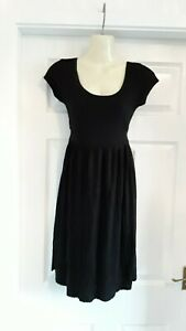 LOVELY * ASOS MATERNITY* BLACK DRESS SIZE 8 NEW WITH TAGS