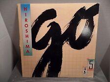Hiroshima ~ Go LP 1987 Epic Records FE 40679 Jazz