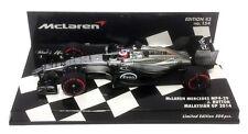 Minichamps McLaren MP4-29 Malaysian GP 2014 - Jenson Button 1/43 Scale