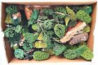 50x ho 1:87 Noch Pola Busch PINE & LEAF TREES LANDSCAPING Lay-Out Material Lot!