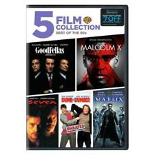 5 Film Favorites Best of the 90's GoodFellas Matrix Seven (Dvd) New