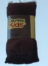 Chocolate Ruffle Pima Cotton Capri by Country Kids