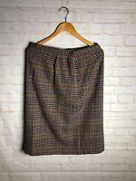 Vintage Pendleton Womens Skirt Wool Authentic Plaid Size 14