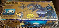 1989 Batman Batwing Battery Op Remote Control Blue Box Toys Vintage Collectable