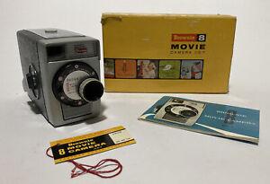 Vintage Kodak Brownie 8mm Movie Camera & Box - F2.7 Lens - Works