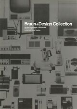 BRAUN + Design Collection Flyer Advertising leaflet Ephemera 1995 German Design