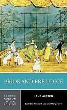 Norton Critical Editions: Pride and Prejudice by Jane Austen and Donald...