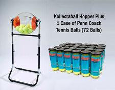 Kollectaball Hopper - Tennis Ball Collector and Feeder + 1 Case of Coach Balls