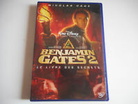 DVD DISNEY - BENJAMIN GATES 2 / LE LIVRE DES SECRETS - N. CAGE - ZONE 2