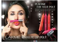 Lakme Absolute Lip Pout Matte Lip Color (3.7gm)
