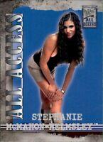 2002 Fleer WWF All Access Stephanie McMahon-Helmsley Base #18