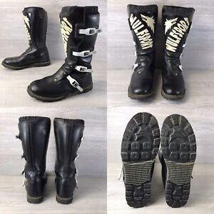 Wulfsport Mx Motorcycle Enduro Boots EU 45 Uk 10.5 Good Condition UK Seller
