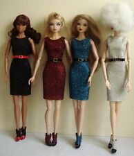 Fabulous sequin dress shoe for 12 inch Fashion Royalty Doll Erin S
