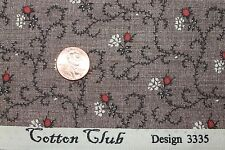 """COTTON CLUB"" REPRODUCTION COTTON QUILT FABRIC FOR MARCUS BY THE YARD 3335-0113"