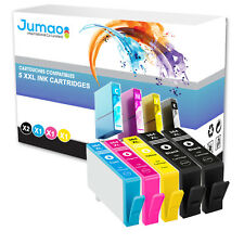 5 cartouches Jumao compatibles pour HP Photosmart e-All-in-One 7510 6520 6525