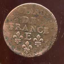 LOUIS XIV  liard  1656 E