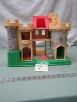 Fisher Price Little People 993 k Castle Building only Play Family Vintage toy