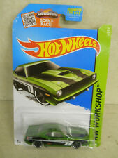 Hot Wheels '70 Plymouth Aar Cuda, 2015 Night Burnerz Series