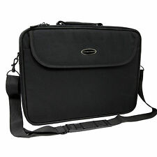 "VALIGETTA CUSTODIA BORSA PORTA DOCUMENTI COMPUTER PC NOTEBOOK PORTATILE 17"" NERO"
