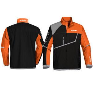 Kubota Branded Orange/Black/Grey Polyester Asymetrical Jacket