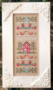 September Sampler - Sampler of the Month - Country Cottage Needleworks New Chart