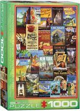 EG60000860 - Eurographics Puzzle 1000 Pezzi Annunci - Pennsylvania Binario