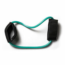 Resistance Bands Tube Cuff Workout Medium Ankle Tubing Light Pilates Yoga Green
