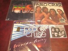 PABLO CRUISE AUDIOPHILE LP SET MFSL SUN + NAUTILUS WORLDS AWAY & LIFELINE + CD